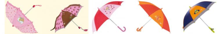 Kinderregenschirme