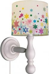 Niedliche Wandlampen spenden Licht im Kinderzimmer