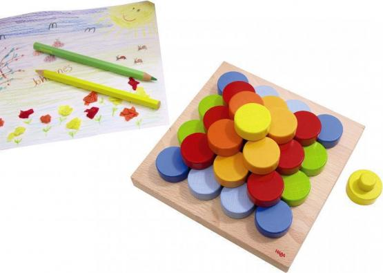 Haba Steckspiel Farbköpfe