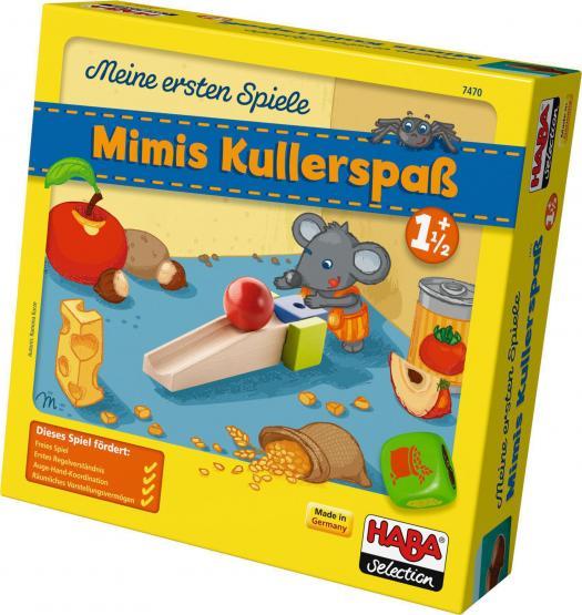 HABA Selection Meine ersten Spiele - Mimis Kullerspaß