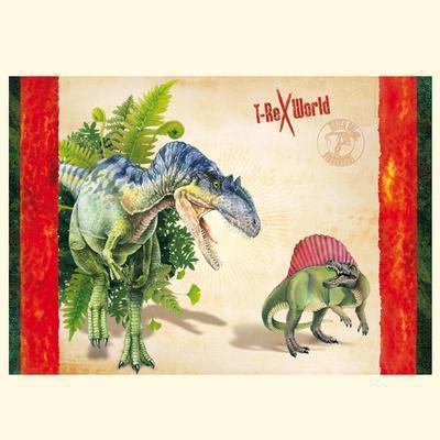 T- Rex World Schreibtischauflage