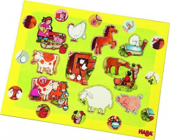 HABA Entdecker Puzzle Tiere