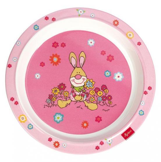 Sigikid Melamin-Teller Bungee Bunny