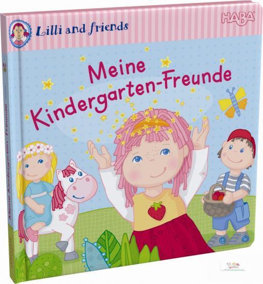 HABA Freundebuch Lilli and Friends - Meine Kindergarten Freunde