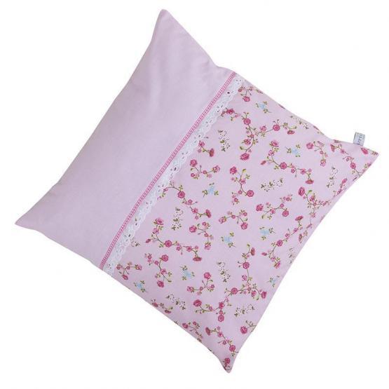 Little Dutch Kissen Blumen pink