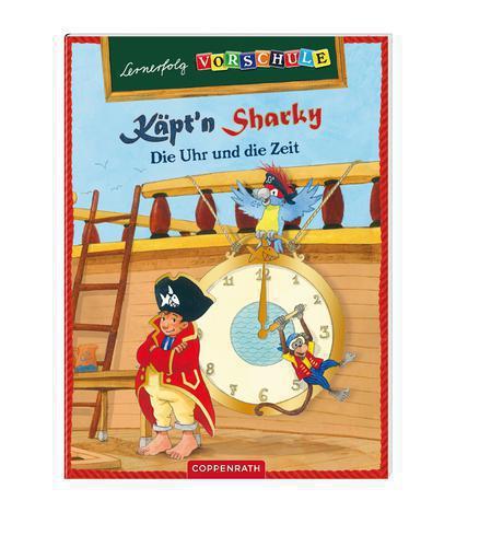 Captn Sharky Die Uhr und die Zeit lernen