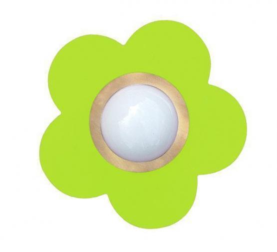 Waldi Deckenleuchte Petit Fleur apfelgrün