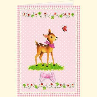 Die Spiegelburg Grußkarte Reh BabyGlück