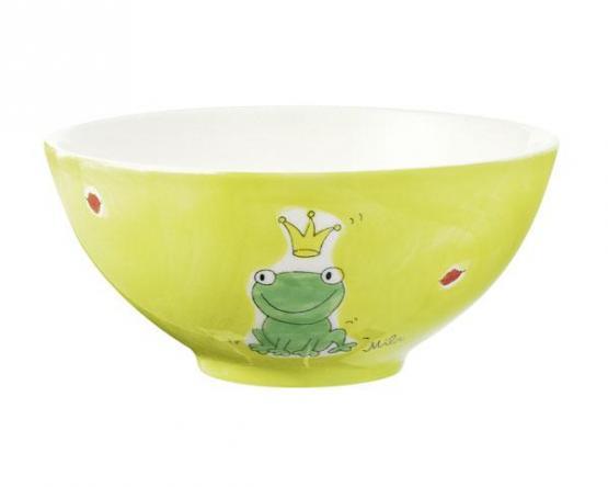 Mila Keramik Schale Kiss me grün