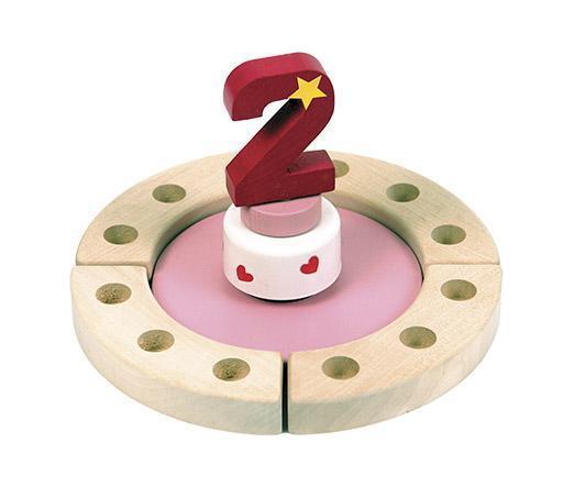 Niermann Happy-Spieluhr Mini rosa mit Festring