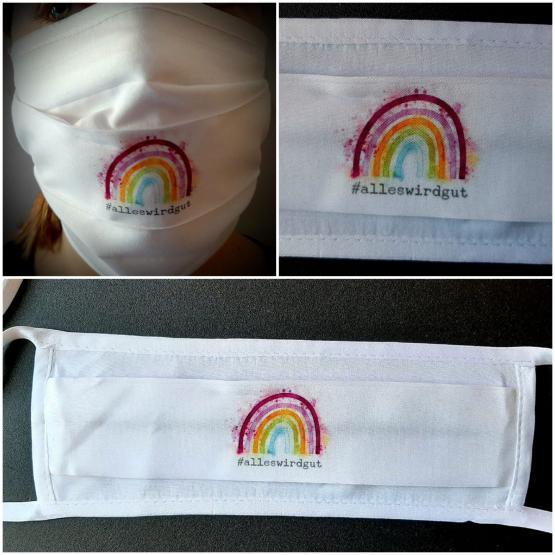 Funktions-Alltagsmaske Regenbogen