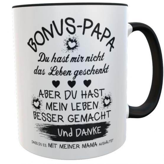 Tasse Vatertag Bonus Papa Stiefvater