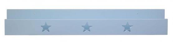 Bücherleiste Star blau
