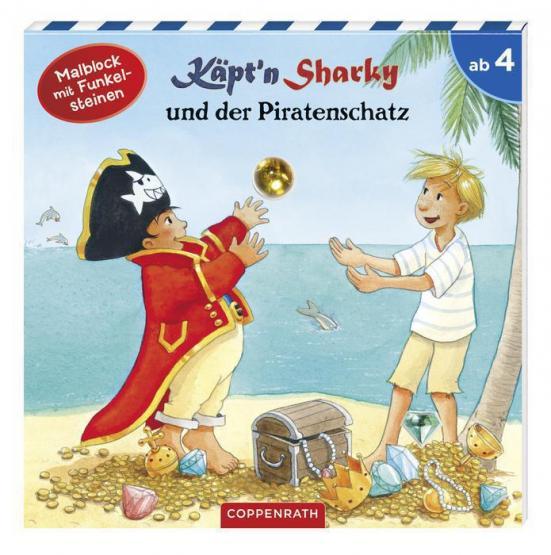 Die Spiegelburg Malbuch Captn Sharky und der Piratenschatz