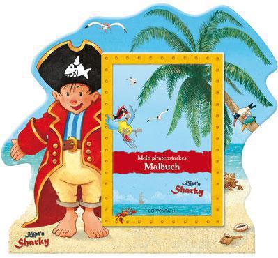 Die Spiegelburg Malbuch piratenstark Captn Sharky