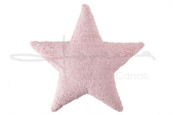 Lorena Canals Kissen Stern rosa