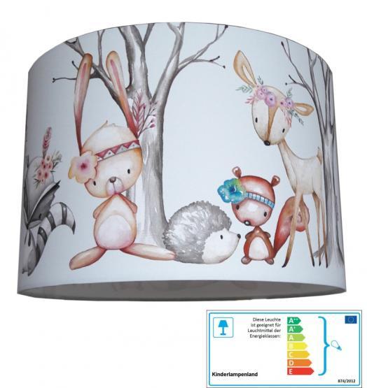 Kinderzimmerlampe Waldtiere