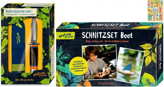 Die Spiegelburg Nature Zoom Schnitz-Set