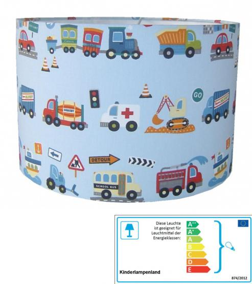 Kinderzimmerlampe Fahrzeuge
