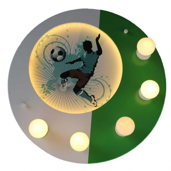 Elobra LED Deckenleuchte Fußball Soccer grün