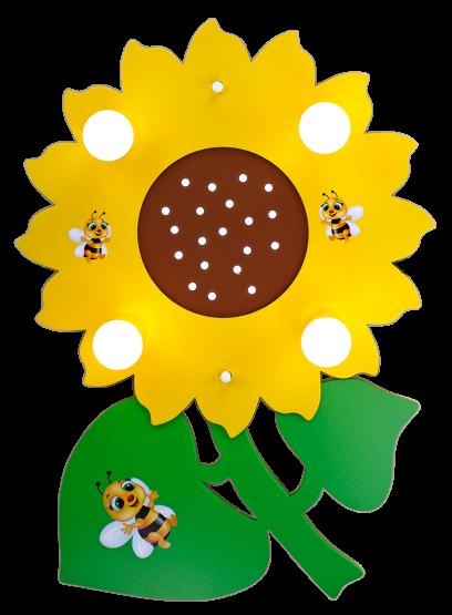 Elobra Deckenleuchte Sonnenblume mit Maja