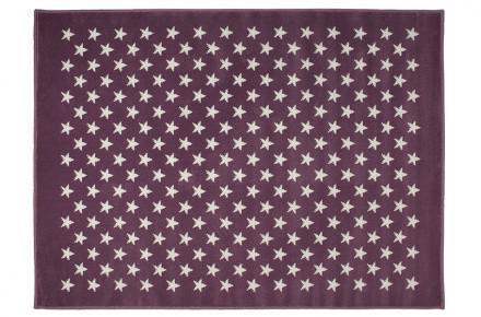 Lorena Canals Kinderteppich kleine Sterne lila 200 x 300 cm