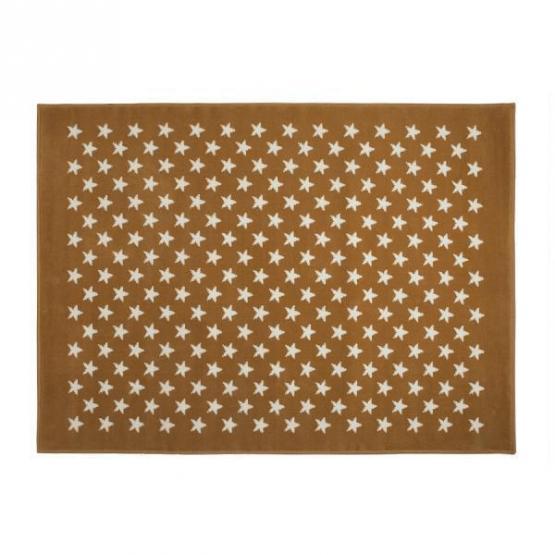 Lorena Canals Kinderteppich kleine Sterne beige 200 x 300 cm