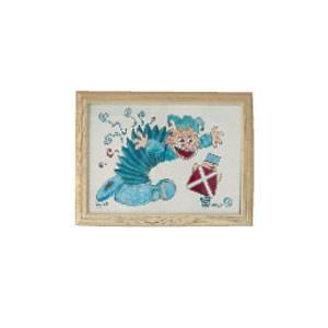Kinderzimmerbild Troll aus der Kiste