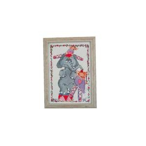 Kinderzimmerbild Zirkuselefant