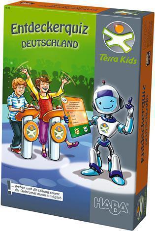 HABA Entdeckerquiz Deutschland Terra Kids