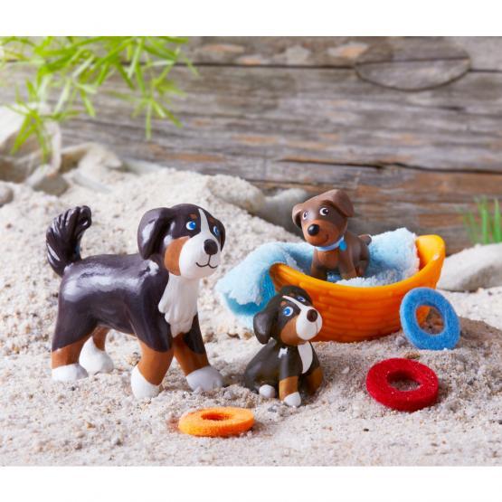 Haba Little Friends Spieset Hund Leika und Welpen