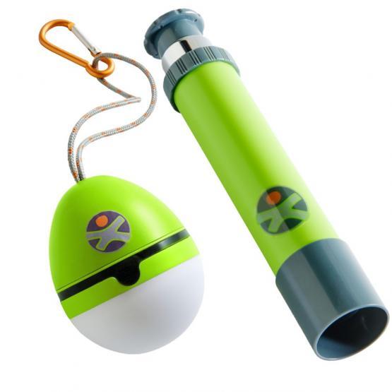 Haba Terra Kids Fernrohr und Zelttaschenlampe