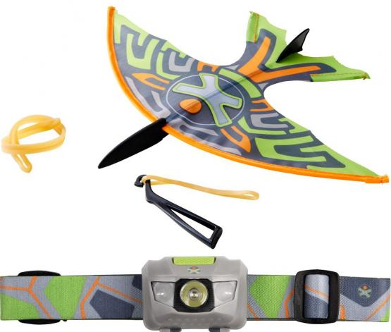 Haba Terra Kids Schleuder-Gleiter und Stirnleuchte LED