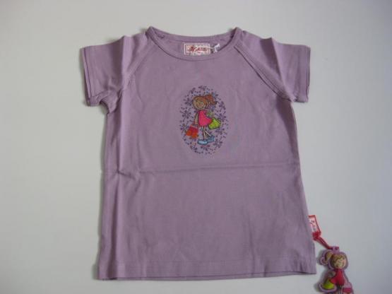 Sigikid T-Shirt Shopping Girl Lavendel