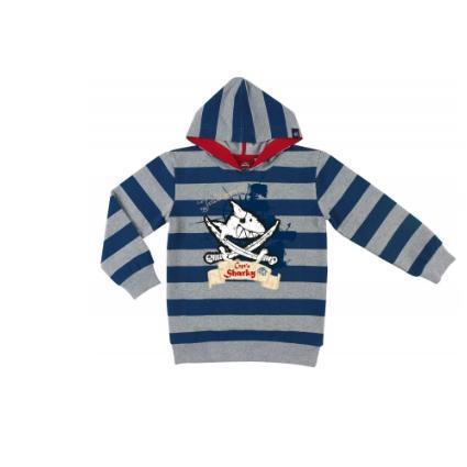 Captn Sharky Kapuzen- Shirt (128/140)