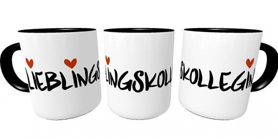 Kilala Kaffeetasse Lieblingskollegin Teetasse Henkeltasse Bürotasse Kaffeepott Hengeltasse