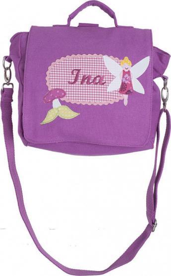 Kindergartentasche mit Namen Fee