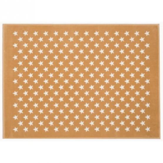 Lorena Canals Kinderteppich kleine Sterne beige 120 x 160 cm