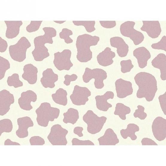 Lorena Canals Kinderteppich Kuhflecken rosa