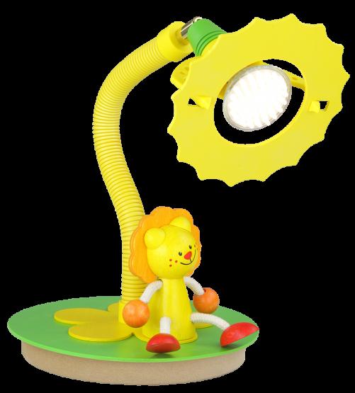 Elobra LED-Tischleuchte Löwe