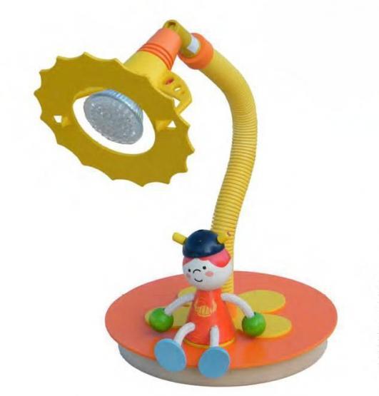 Elobra LED-Schreibtischlampe Wikinger orange
