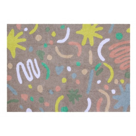 Lorena Canals Kinderteppich Happy Party 140 x 200 cm