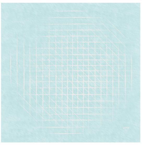 Lotta Lable Teppich Softie Squares mint