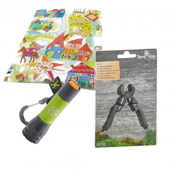Haba Terra Kids Mini Taschenlampe mit Multitool