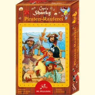 Captn Sharky Mitbringspiel Piraten Rauferei