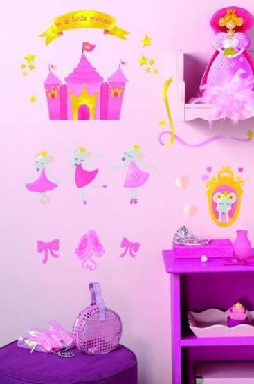 Wandsticker Little Princess
