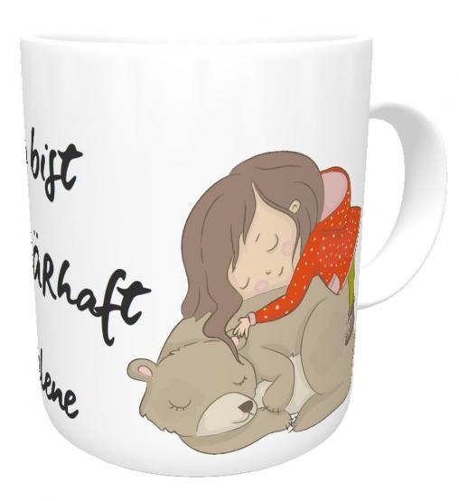 Namenstasse Du bist zauBärhaft I Kakaotasse I Kaffeetasse