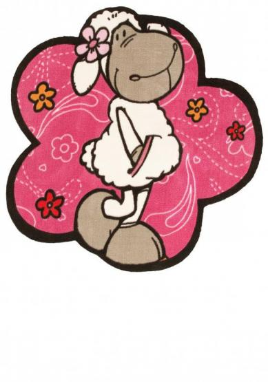 Nici Teppich Jolly Rosa