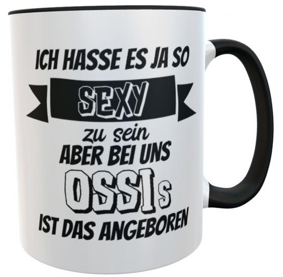 Lustige Tasse sexy Ossi inkl. Geschenkverpackung
