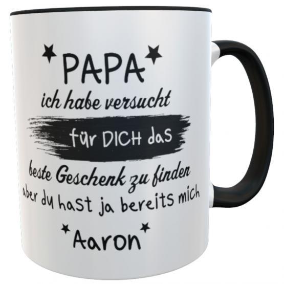 Tasse Vatertag Spruch bestes Geschenk